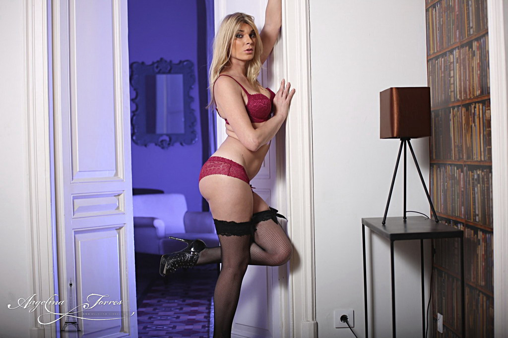 Tgirl Angelina Torres - Come Inside My Room