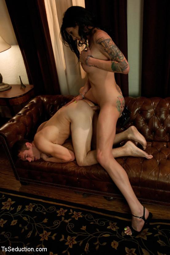 Brunette Femboy Morgan Bailey Sucking Dick Dick And Banging In High Heels