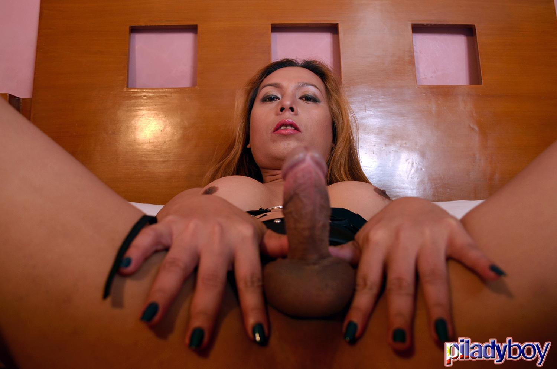 Francine: Black Rubber Skirt 2