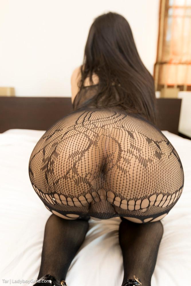 Massive Tool Sex In A Black Panties Bodysuit