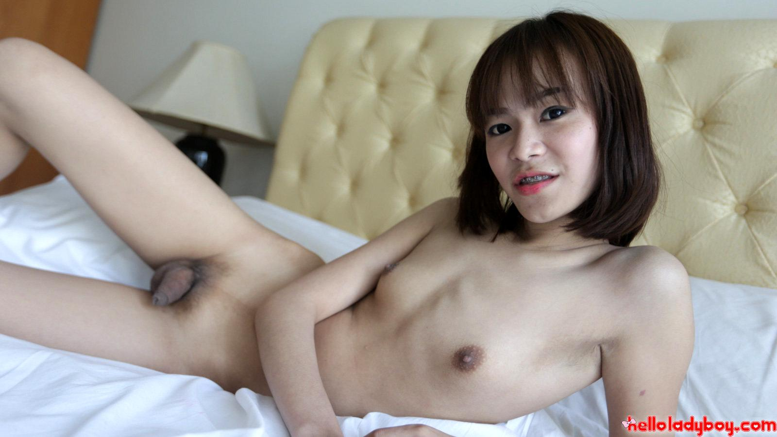 Solo Ladyboy With A Massive Penis