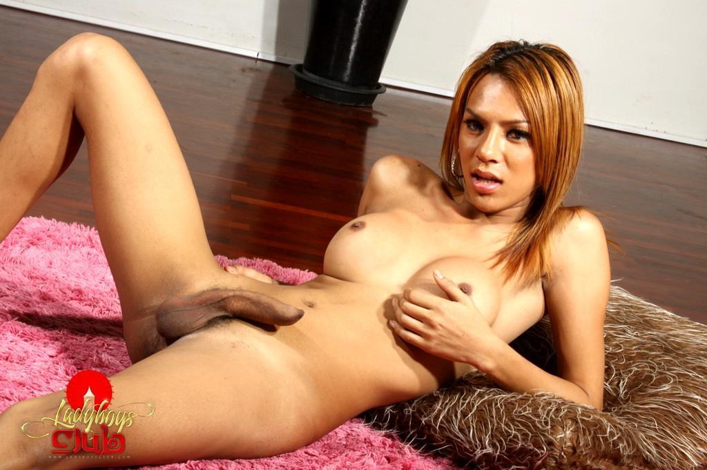 Flirtatious Tranny Show Her Round Tits On Cam