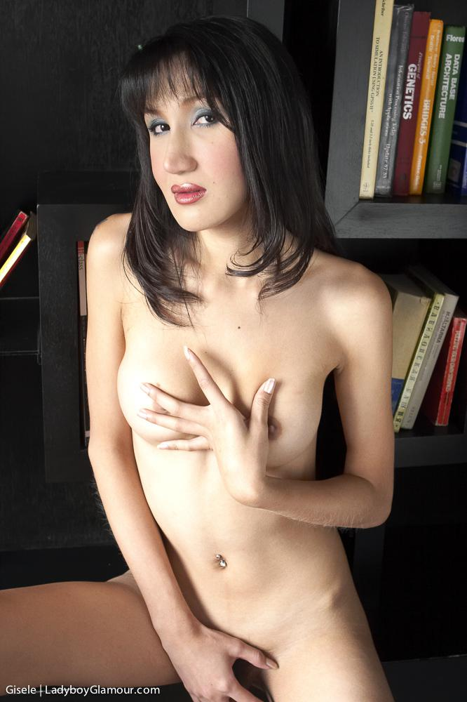 Sexy Tgirl Masturbating