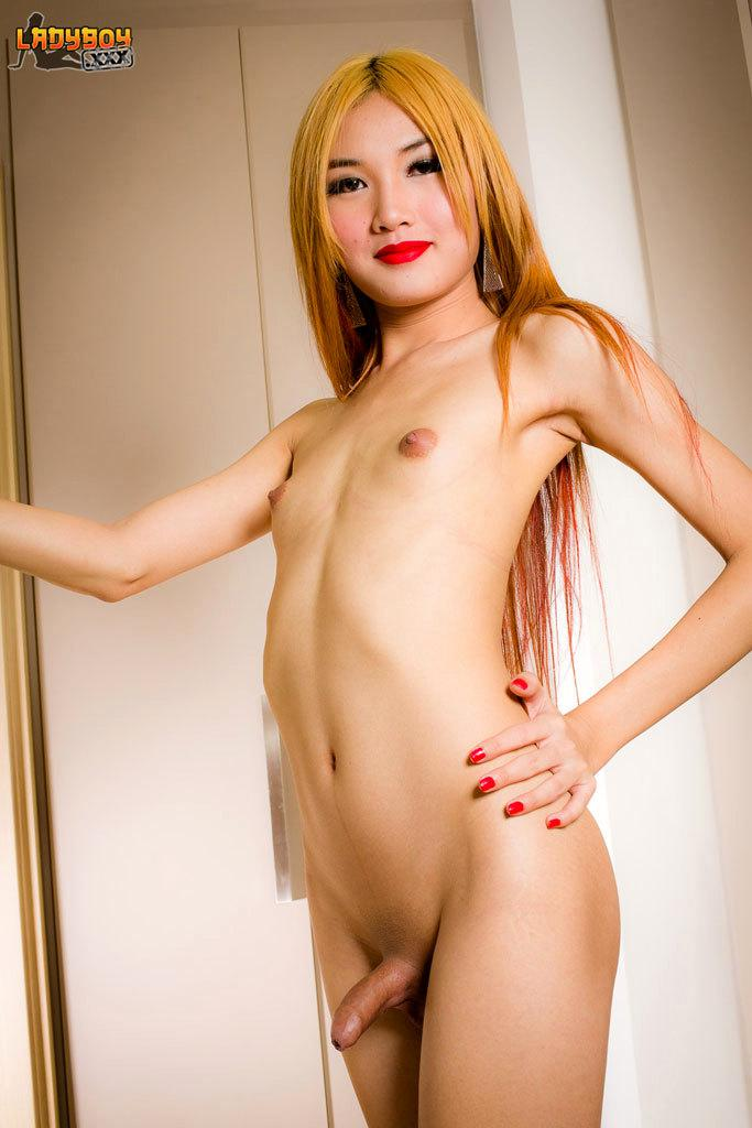 Bare Back Anal With Enormous Dick Leaves This Asian Teen Tgirl Dripping With Spunk