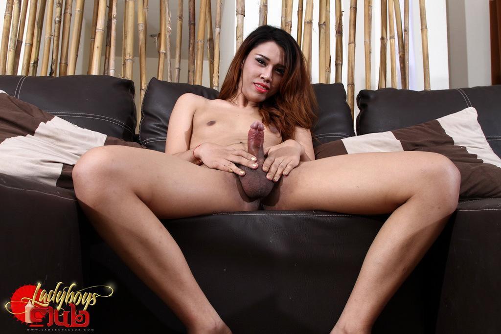 Nasty Thai Shemale Posing