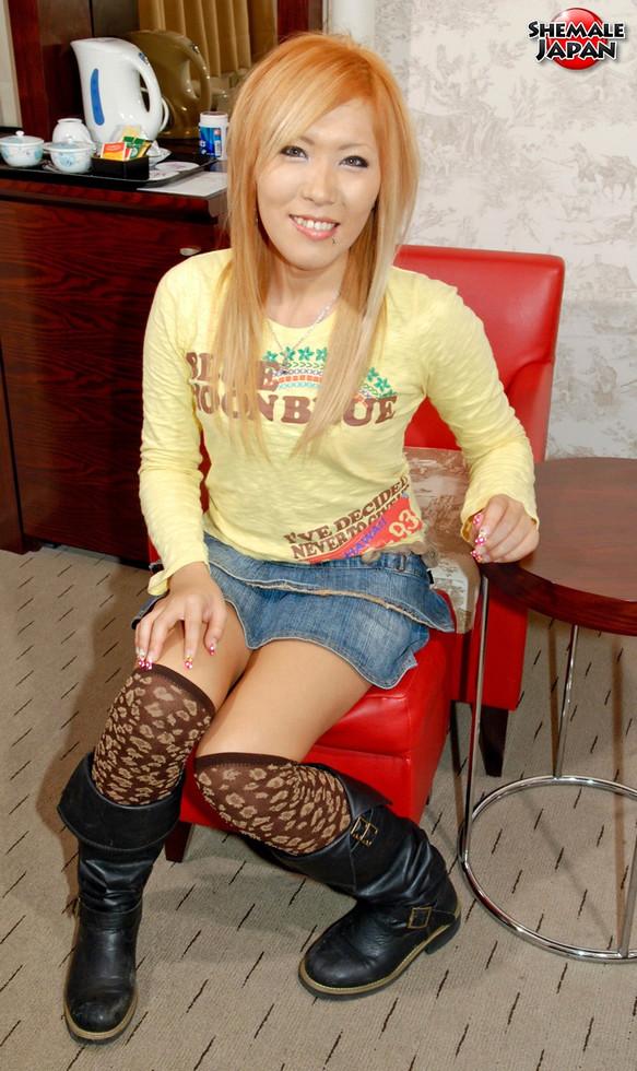 Japanese Tgirl Kana
