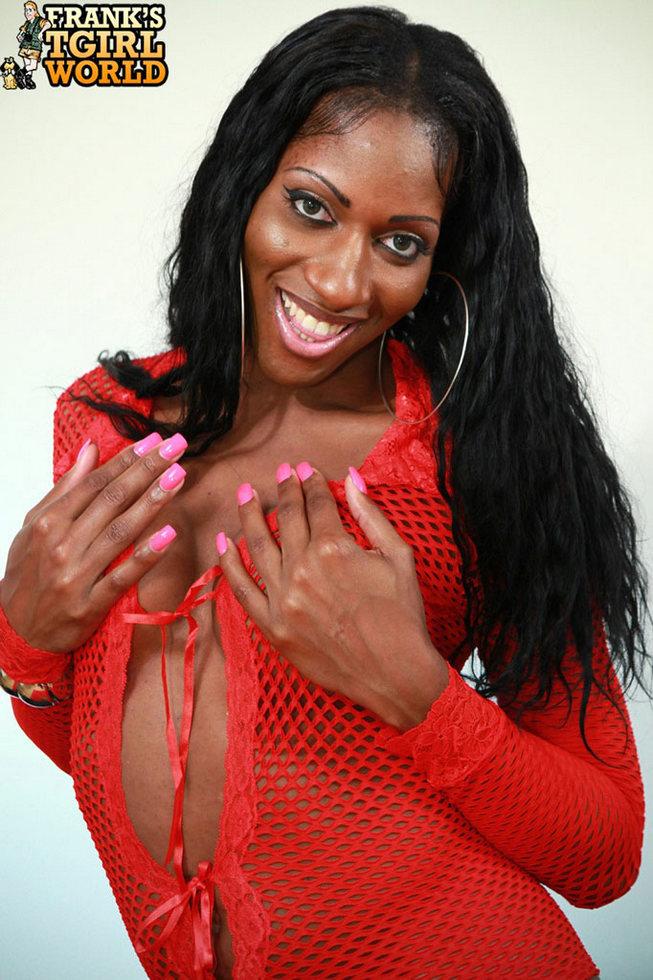Black Tgirl India