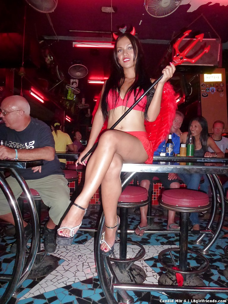 TGirl Prostitutes A Blowjob Out Looking For Sex Dates In High Heels