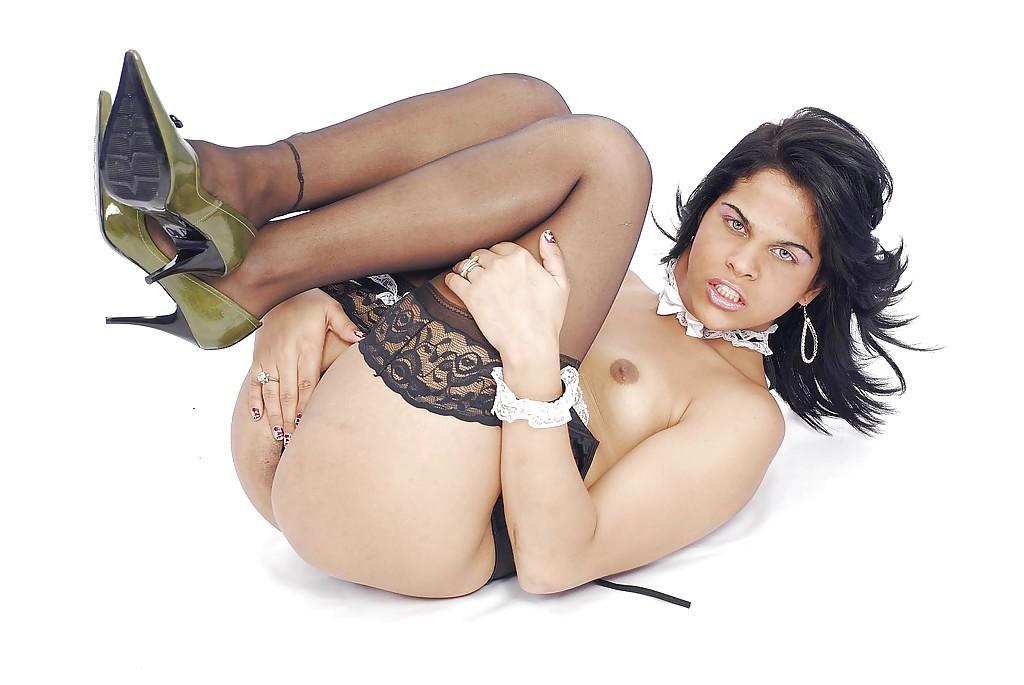 Kinky Thai Ladyboy Andreia Albertini Posing And Getting Her Ass-Hole Ruined
