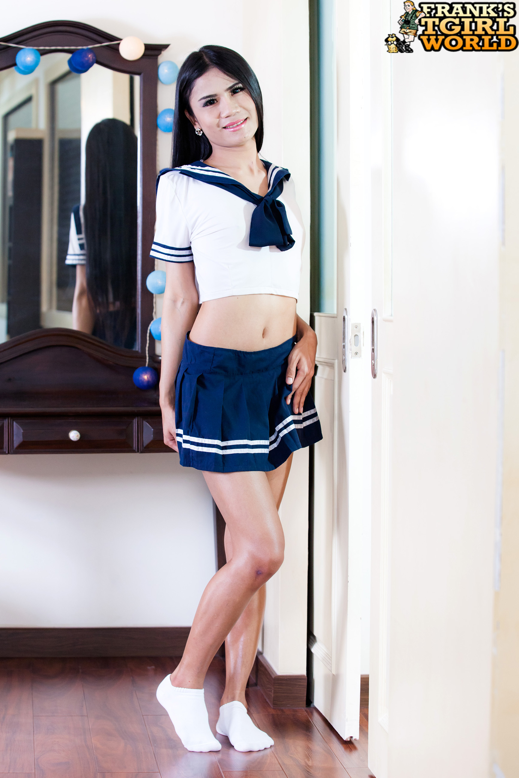 Naughty School Girl Nancy Plays!