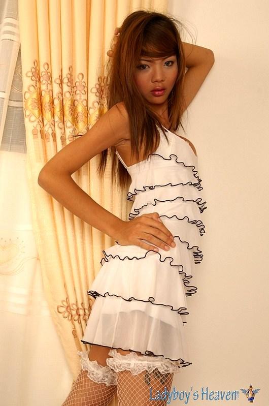 Small, Skinny, Perfect Thai Shemale Nadia Love