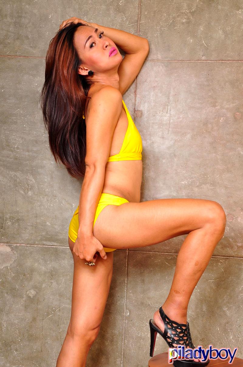 Maria: Yellow Swimsuit