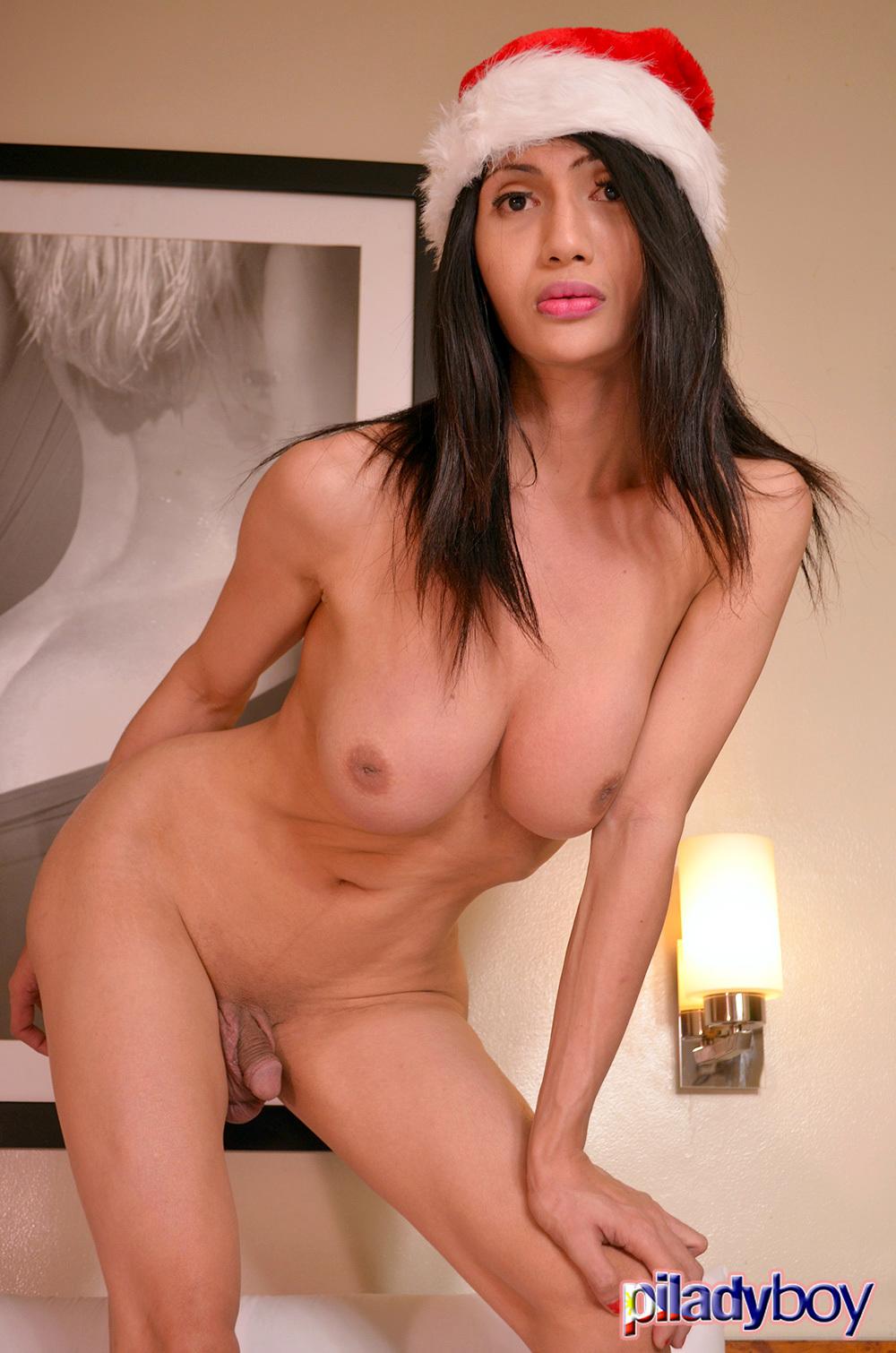 Pauline Diaz: Flirtatious Yuletide Candy Cane 1