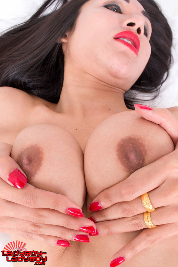 Pretti Loves Stroking Her Cock!
